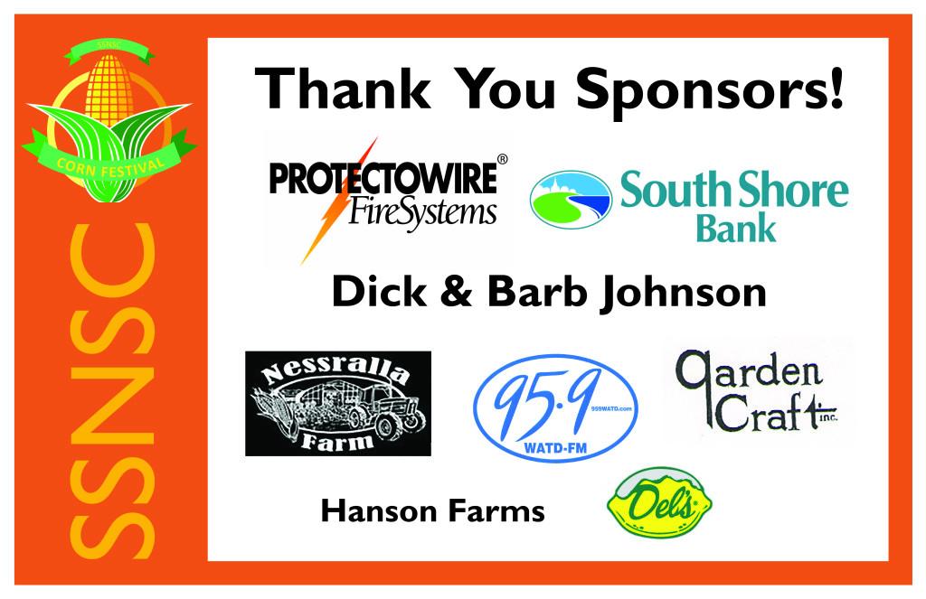 2017 Corn Fest Sponsors